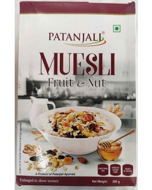 b : MUESLI FRUIT AND NUTS